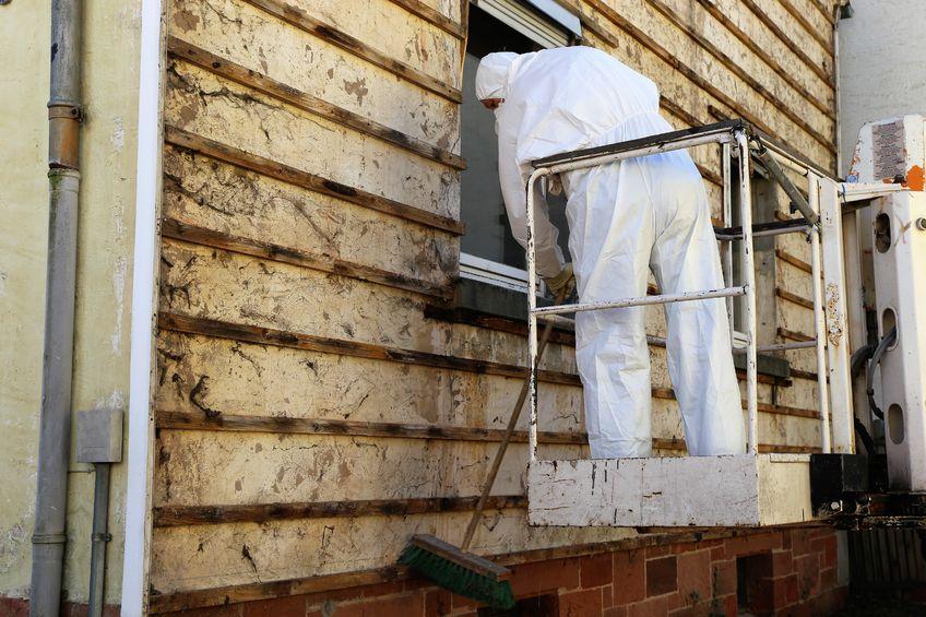 asbest gevel verwijderen
