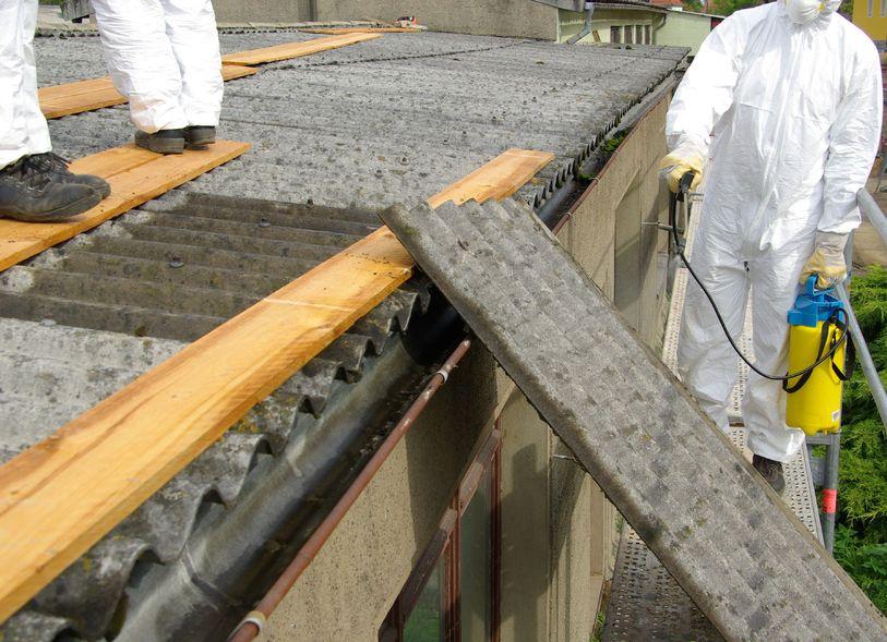 asbest platen verwijderen